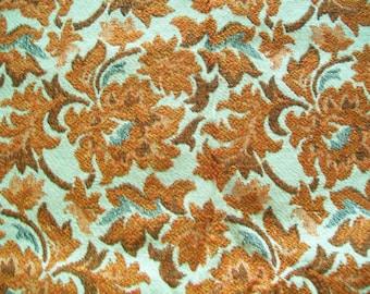 Vintage Fabric Destash - 60s/70s Tapestry - Larger REMNANT Pieces