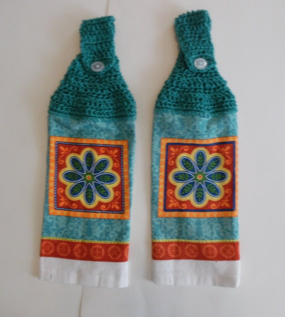 Crochet Summer Towel Kitchen Towel Hand Towel By