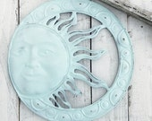 Sun Wall Decor-Aqua Home Decor-Entryway Decor-Entry Way Wall Art
