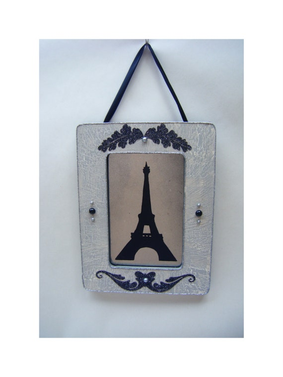 Small Eiffel Tower Wall Decor : Eiffel tower french country vintage style wall decor antiqued