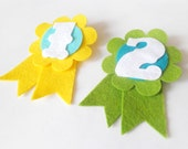 Birthday Badge / Rosettes for kids. 2nd Birthday brooch for boys and girls.