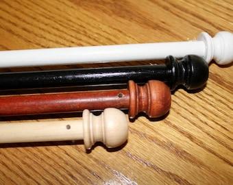 """26"""" Dowel Quilt Hanger, Quilt Display with wooden dowel"""