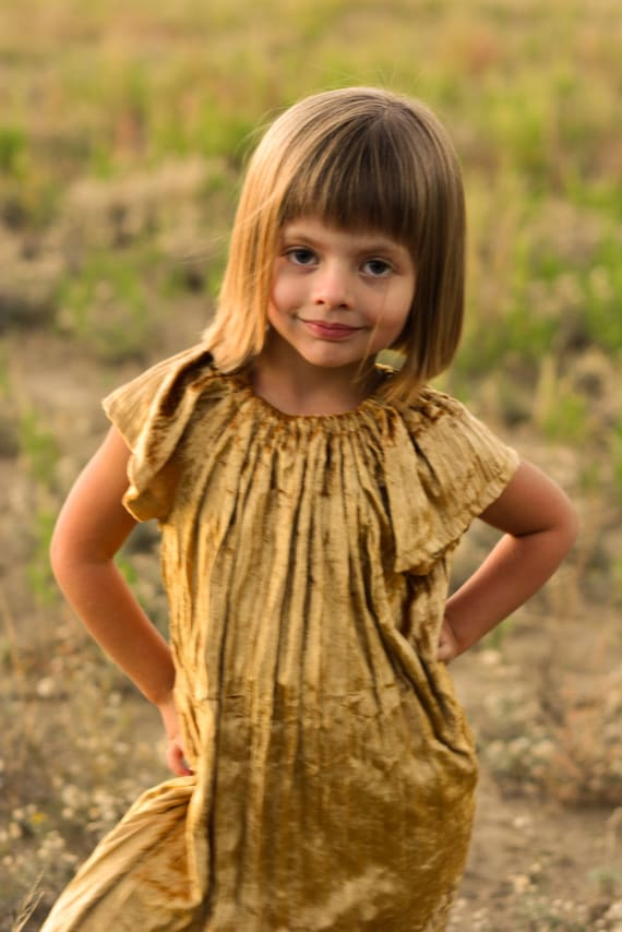 Dress Sewing Pattern: Angel Sleeve Dress and Blouse for Babies and Girls (PDF, e-pattern, eBook INSTANT DOWNLOAD)