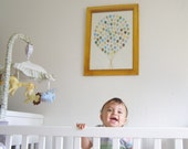 New Baby Gift / Nursery Decor / Balloon Bouquet / Nursery Wall Art / Nursery Art / Game Room Decor / Kids Wall Art / Baby Shower Gift /