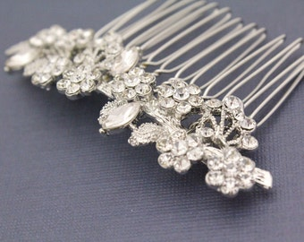 Wedding hair comb vintage Wedding hair comb pearl Wedding hair comb hair accessory Wedding hair comb hair jewelry Bridal hair comb headpiece