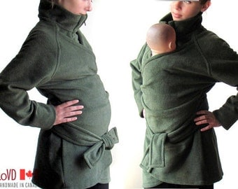 Maternity, SALE, Maternity Coat, Slim Fit, Slimming, Maternity Wear, Baby Clothes, Babywearing  Babywearing Coat, Coat over Sling, Poncho.