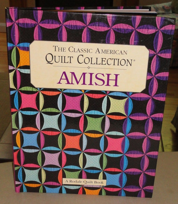 Book Cover Handmade Quilts : The classic american quilt collection amish hard cover book