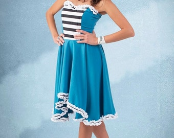 Moulin Rouge  dress By TiCCi Rockabilly Clothing