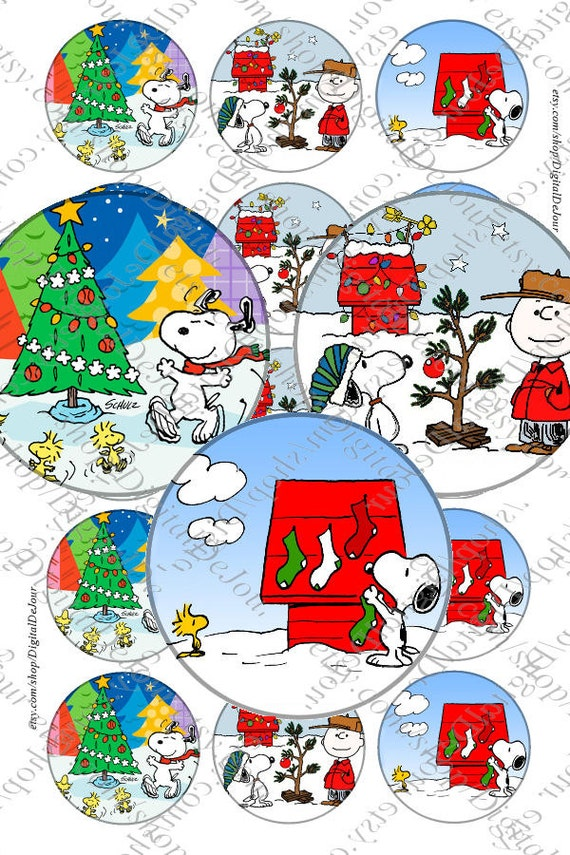 Snoopy charlie brown christmas peanuts bottlecap bottle cap images