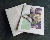 origami card,  butterfly-greeting-birthday, thank you, baby shower card, get well-折り紙カード