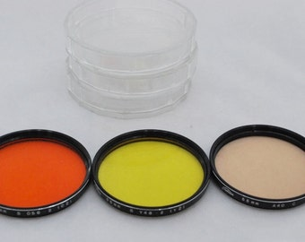 Toshiba camera lens filters, 55mm filters, color filters