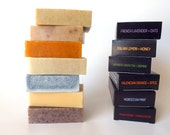 Soap Gift Set - Natural Soap, Organic Soap, 6 Pack Set, Unisex Soap, Handmade Soaps