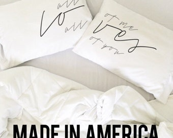 Wedding Gift All of Me Loves All Of You Couples Pillow Case Set John Legend Wedding Pillowcase His and Hers Pillows Couples Mr Mrs Pillow
