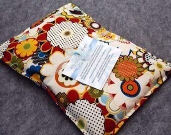 Corn Bag Microwave Heating Pad  -- Chinatown, pillow 10x14