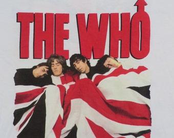 THE WHO 1989 tour T SHIRT mint 23/30
