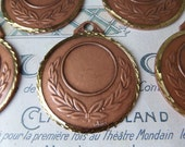 BLANK BRONZE MEDALS New from old stock Jewelry Artwork Set of 5