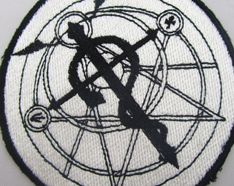 Alchemist Anime Machine embroidered  Iron on OR Sew on patch