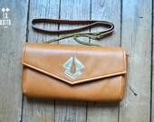 """SPECIAL ORDER """"JUNE 's handbag in camel leather"""""""