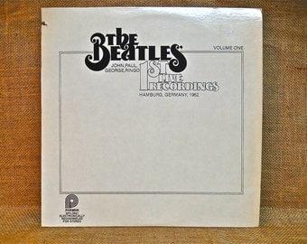 THE BEATLES - 1st Live Recordings Hamburg, Germany, Volume One - 1962  Vintage Vinyl Record Album