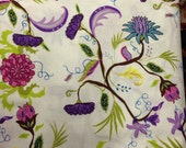 studio e Zaza Zing White by the yd 1yd piece QUILT FABRIC SALE