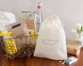 Nashville Wedding Welcome Bags - State Out of Town Guest Bags - CHOOSE YOUR CITY