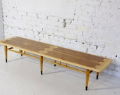 Reserved - Mid Century Modern Lane Acclaim Long Surfboard Coffee Table Restored
