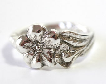 RARE Antique Sterling Silver Ring - Primrose, 1958