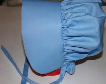 Blue Pioneer Bonnet