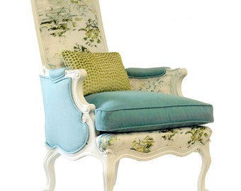Upholstered Wing Back Avalon Chair