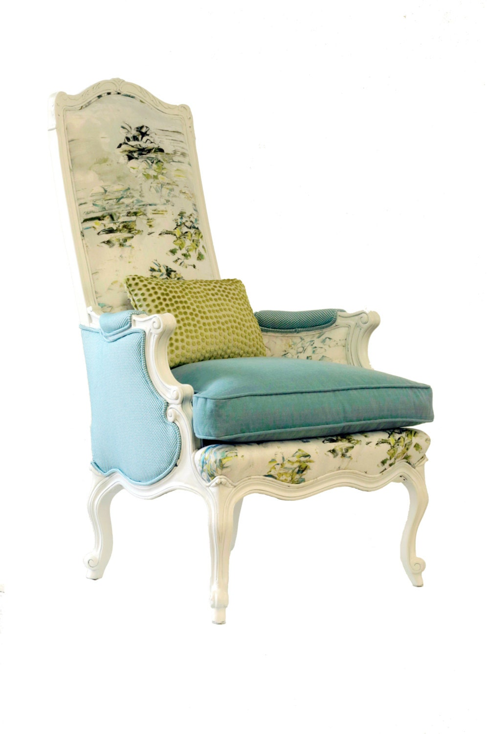 wing back accent chairs upholstered wing back avalon chair 22164 | il fullxfull.793556232 oaat