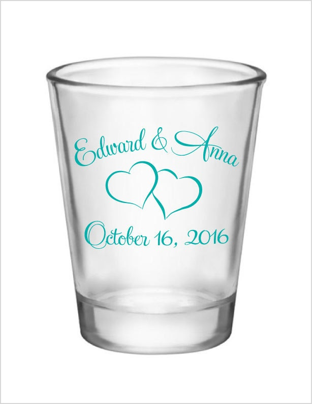 wedding shot glasses 192 personalized wedding favors