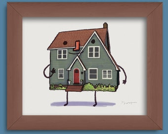 Custom art- Your House, Brought to Life