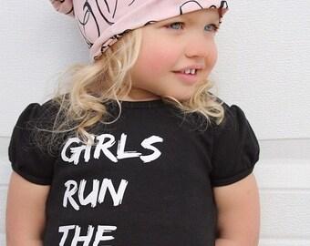 Girls Run the World T-shirt New Design Top