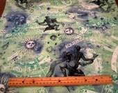 New Dawn Zodiac Sign Aquarius premium cotton fabric Fabri-Quilt - astrology