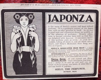 JAPONZA Seely's newest and most refined perfume