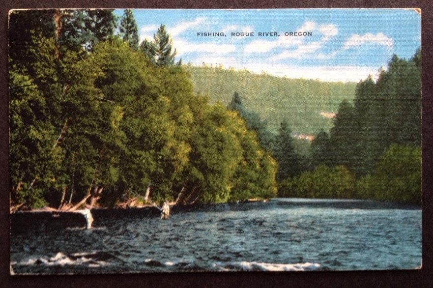 Fishing rogue river oregon for Rogue river oregon fishing