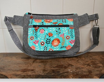 The Orchid Waist/Sling Bag - PDF Sewing Pattern