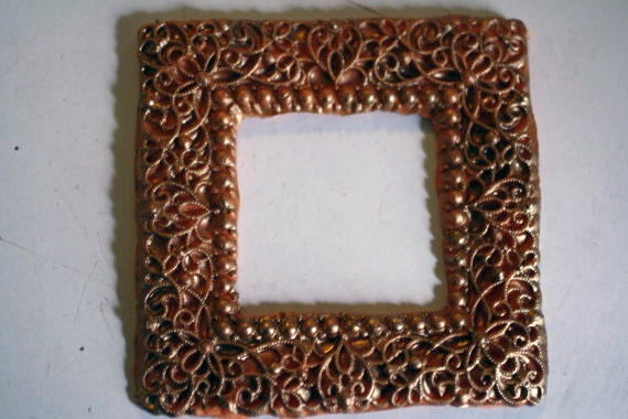 Basket Weaving Supplies Richmond Va : Filigree square frame mold for cake decorating polymer