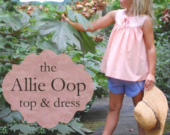 BG Originals Allie Oop (top & dress) pdf pattern