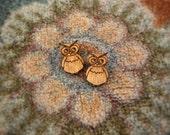 Cute Owl Stud Earrings