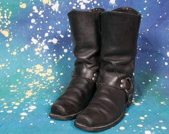 HH West Motorcycle Boots  Men's Size 8 D