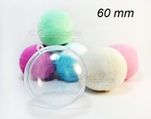 1 Round Bath Bomb Mold 2.36 inches / 60mm