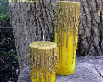 Crown For A King Candle - Witchcraft Candle, Wiccan Spell Candle, Pagan Candle, Ritual Candle, Hoodoo Candle, Spell Candle