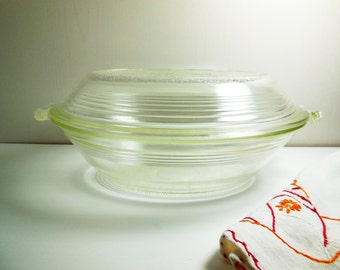 Mary Dunbar Heat Flow Ovenware Oval Casserole - Vintage Baking Dish