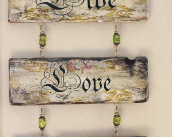 live love laugh wall sigh, live love laugh wall decor, wooden wall decor, wood wall decor, wood plaque, live love laugh plaque, wall plaque