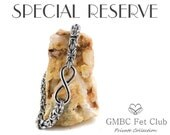 SPECIAL RESERVE for Amanda - Stainless Steel Byzantine Infinity Anklet