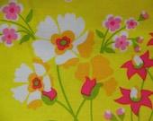 SPRING FLOWER GARDEN * Floral * Little Pink Flowers * Flower Garden Fabric