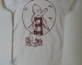 Monkey's Dream - Infant short-Sleeve Organic Onesie