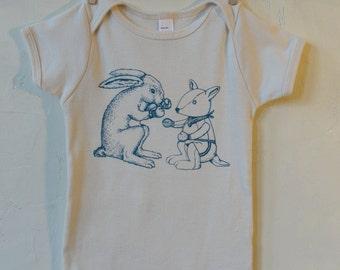 Little Fighter - Organic Infant Short-Sleeve Onesie
