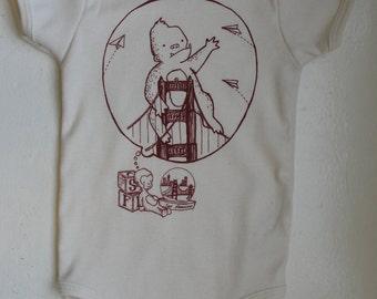 Monkey's Dream - Infant short-Sleeve Organic Onesie